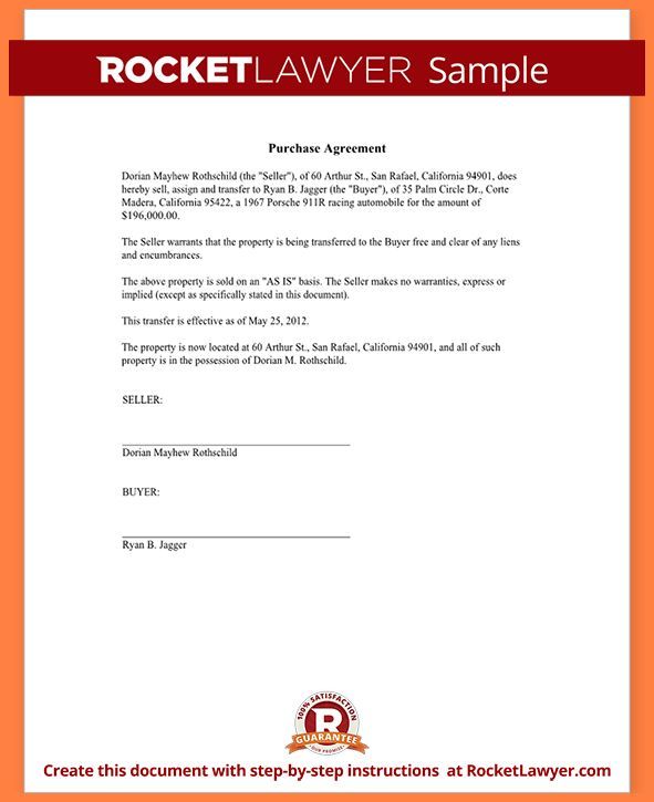 10+ purchase agreement template free | Invoice Example 2017