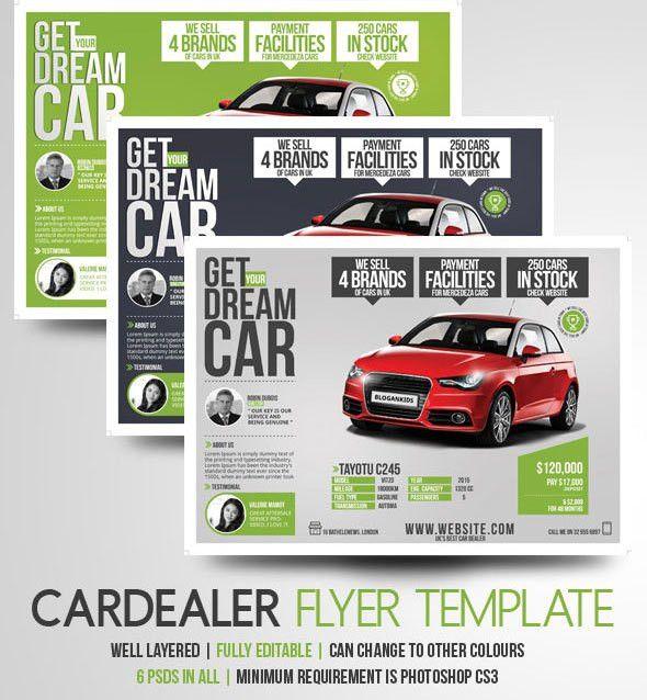 Auto Sales Flyer Templates - Marketing Ideas for Car Dealers | YOGNEL