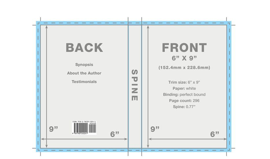 Book Cover Template | Book Cover Templates & Designs for Covers