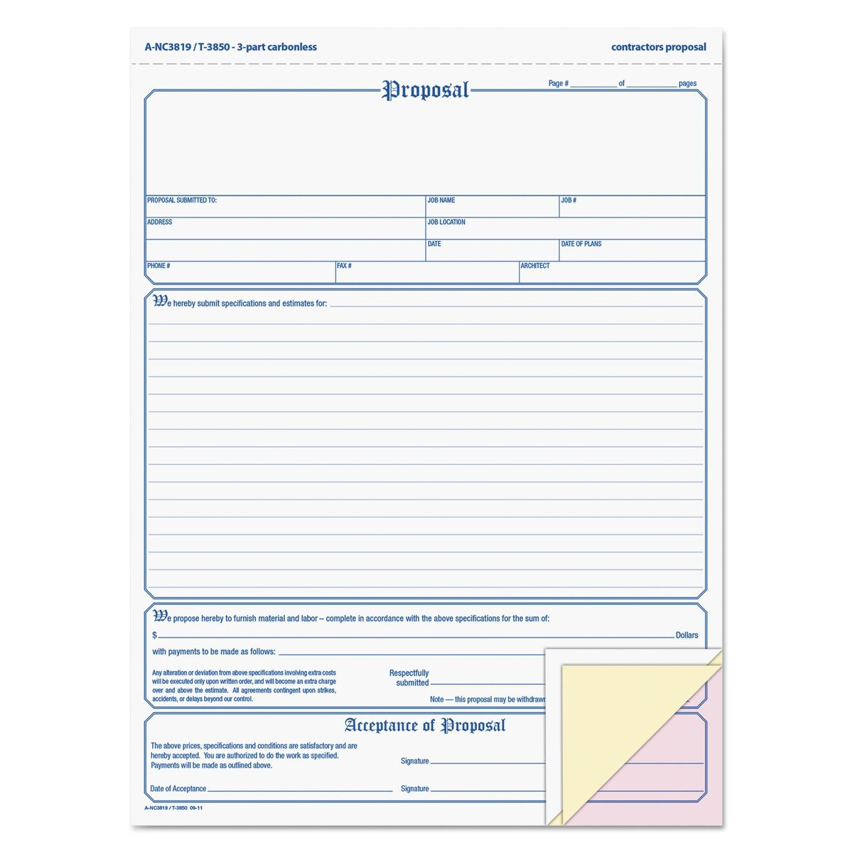Proposal Forms. Get Business Proposal Forms Free Printable With ...