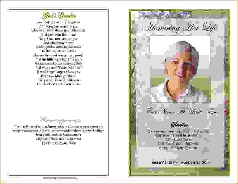 13 funeral program templatesAgenda Template Sample | Agenda ...
