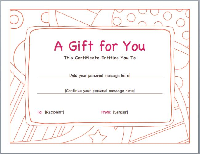 Voucher Template: Perfect Format Samples of Gift Voucher and ...