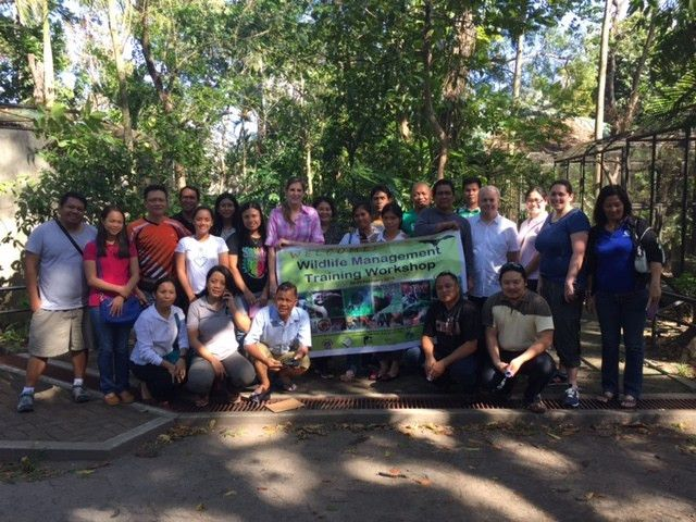 Virginia Zoo Implements Keeper Workshops in the Philippines funded ...