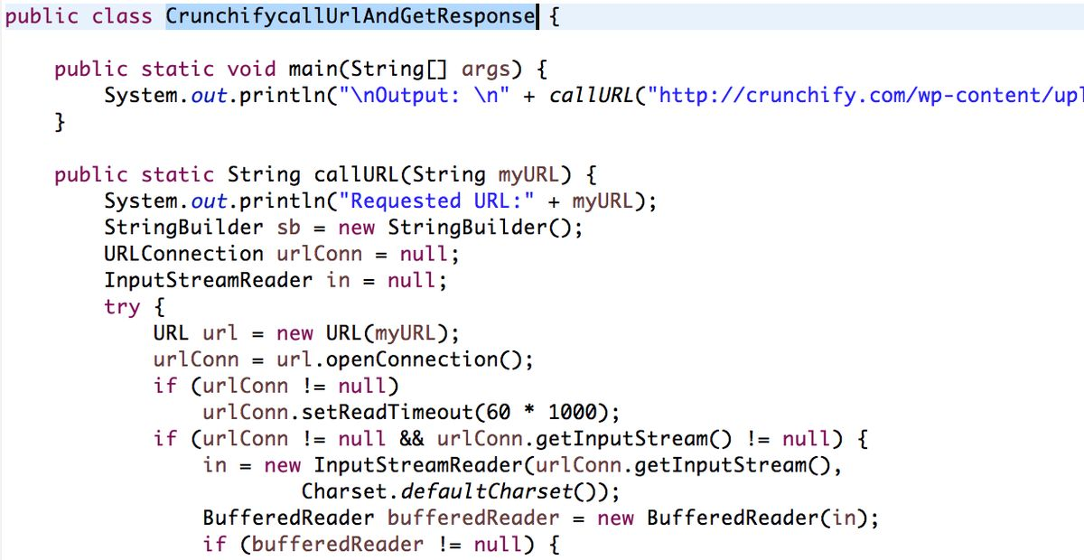 Java URL example: Getting text from URL - Send HTTP request GET ...