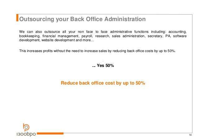 Resourcing Services Proposal - 1300bpo
