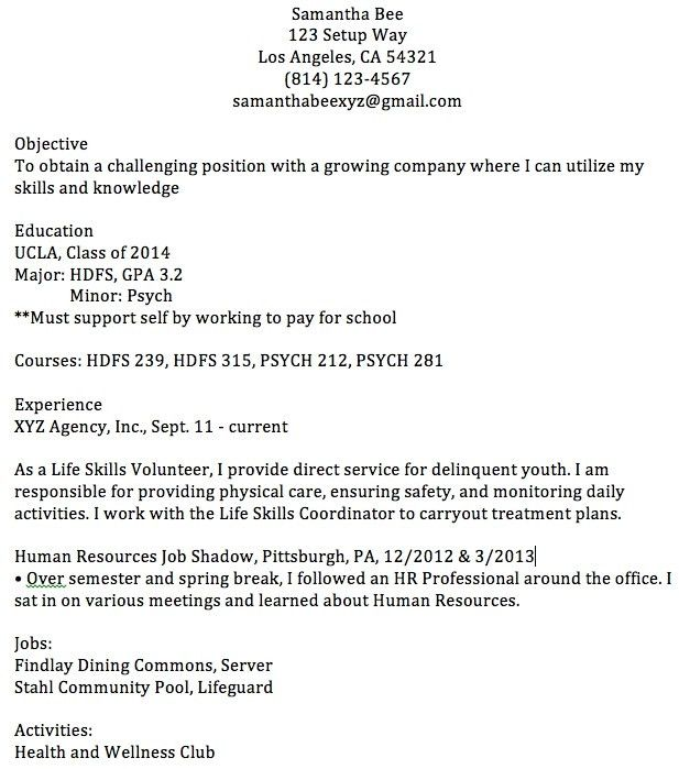 22 Cover Letter Template For Good Resume Examples First Job ...