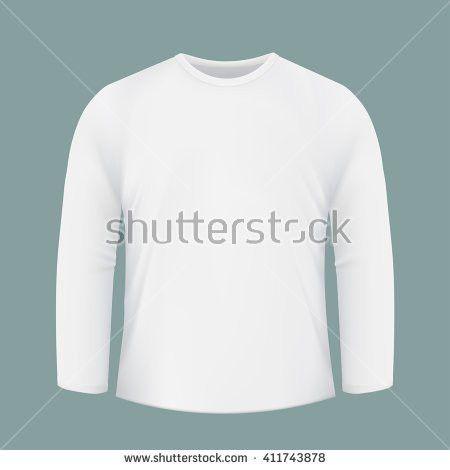 Blank Tshirt Template Front Back Side Stock Illustration 220731418 ...