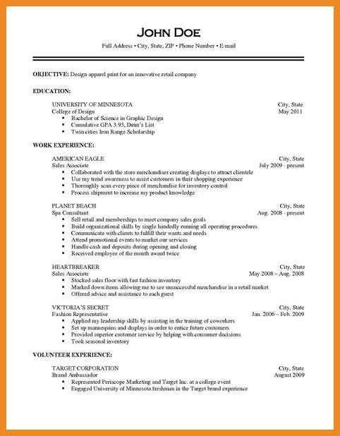9 best different types of resumes formats sample it professional ...
