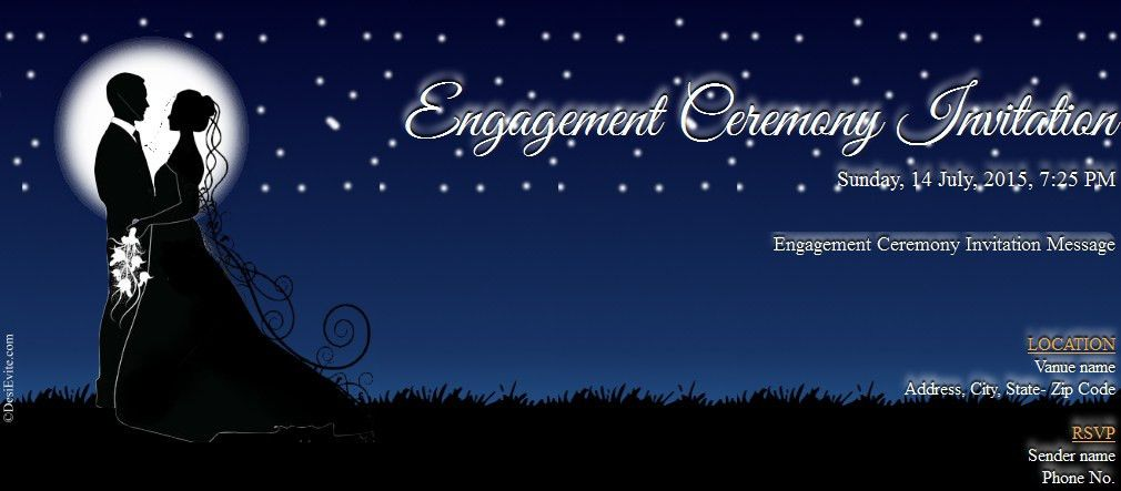 Free Couple-Theme-Engagement-Card Invitation Card & Video, Online ...
