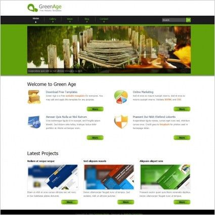 Company profile free website templates for free download about (15 ...