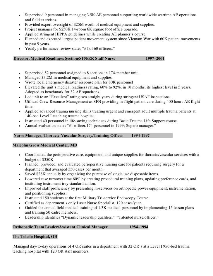 medical surgical nurse resume sample related med surg med surg ...
