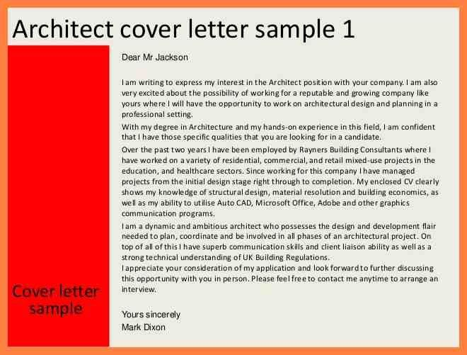 10+ architecture cover letter examples | obituary example
