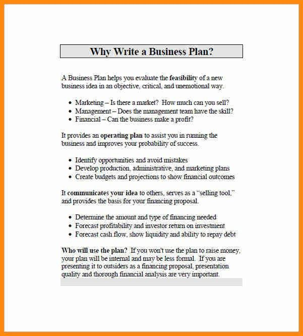 5+ simple business plan template word | model resumed