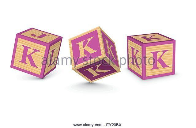 Letter K Block Stock Photos & Letter K Block Stock Images - Alamy