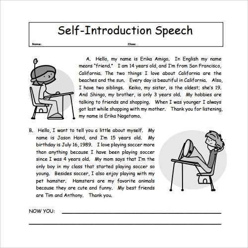 17+ Sample Speech | Debut Final For Anthro,During Your Self ...
