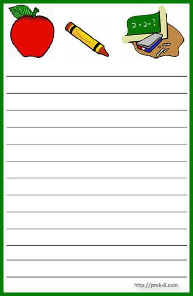 12 Best Images of Free Printable School Stationery Borders ...