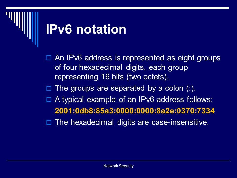 IPv6 Network Security. - ppt download