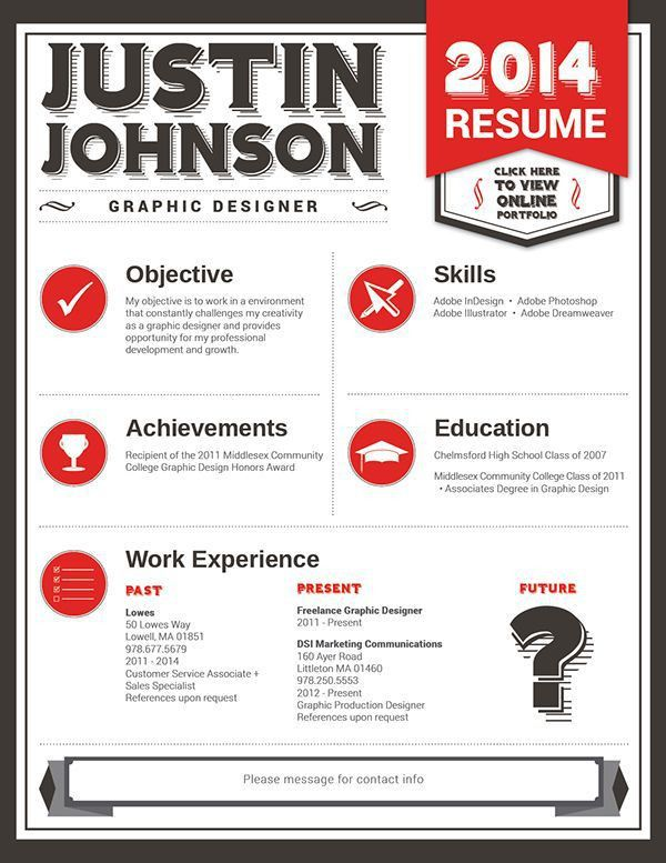 67 best 211 Project Examples images on Pinterest | Creative resume ...