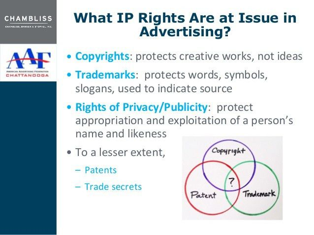 Keeping It Legal, Intellectual Property Issues In Advertising