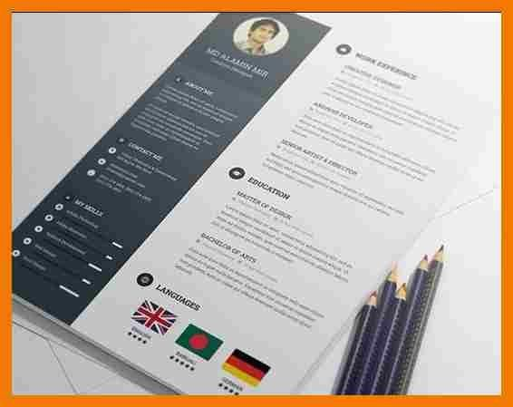 6+ attractive resume templates free download | mailroom clerk