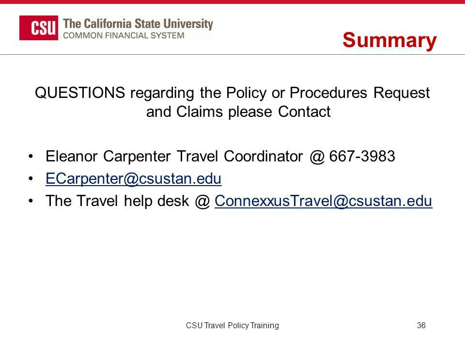Travel Policy and Procedures - ppt download