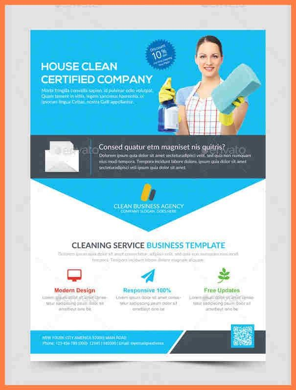 6+ cleaning company flyers template | Company Letterhead