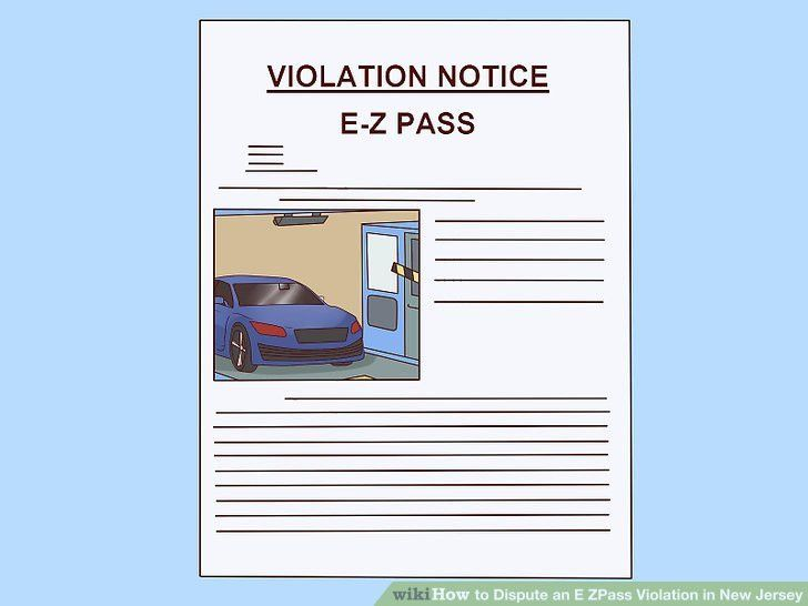 How to Dispute an E ZPass Violation in New Jersey: 7 Steps