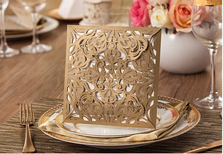 Aliexpress.com : Buy 1 set sample Laser cut creative wedding party ...