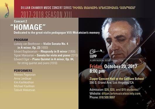 "10.20.2017 ""Homage"" A Lark Musical Society Production ArmenianBD ..."