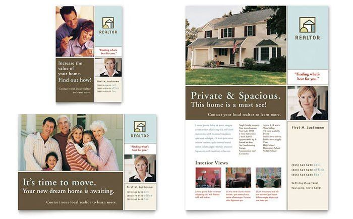 House for Sale Real Estate Flyer & Ad Template Design
