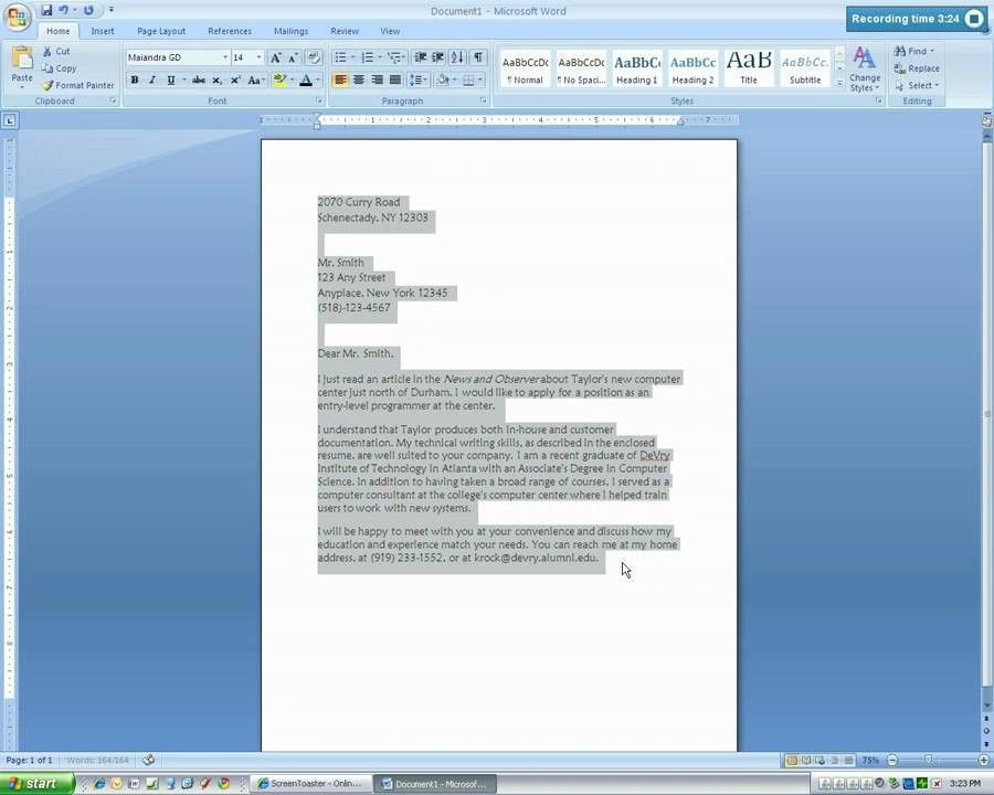 resignation letter word document%0A Microsoft Word      Letter Format  Compudocs us