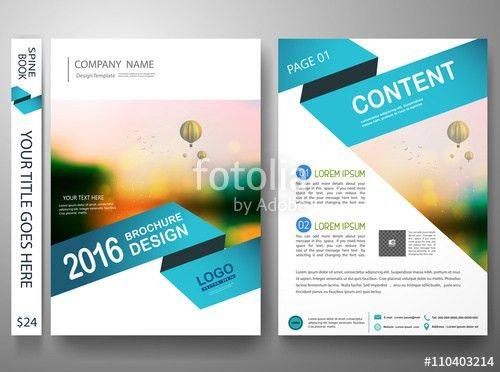 Brochure design template vector. Annual report flyers poster ...