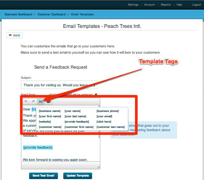 MS Word and Custom HTML in Email Templates – GetFiveStars UserGuide