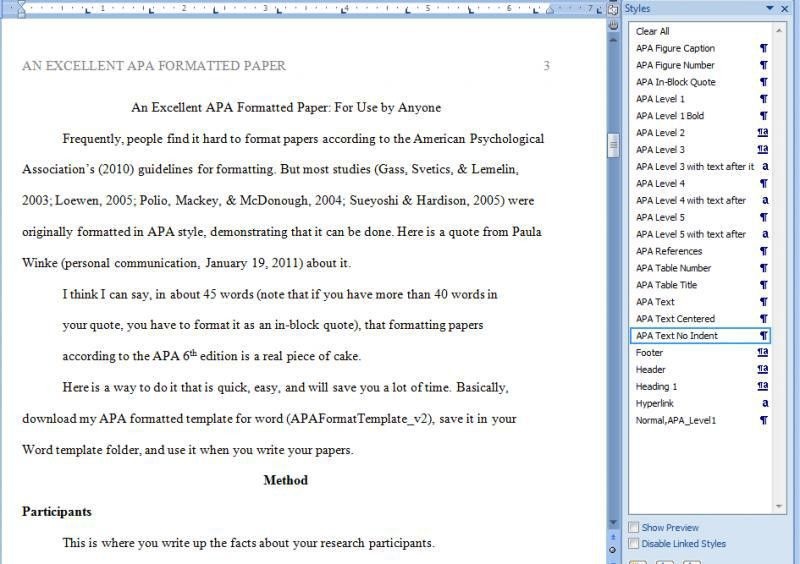 Writing A Paper In Apa Format. Need Help Writing Papers Help ...