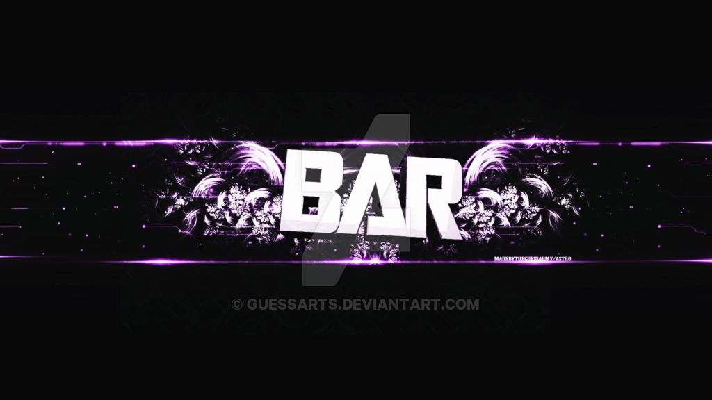 YouTube Banner Template Free Templates by GuessArts on DeviantArt ...