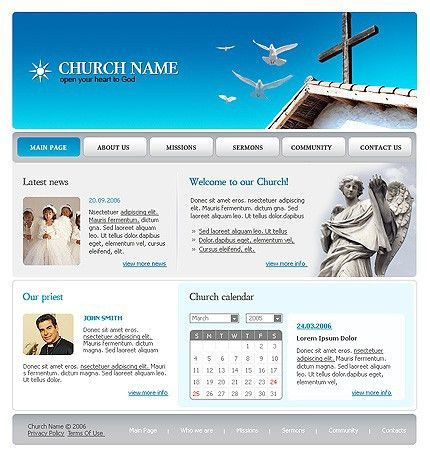Church Website Templates | cyberuse