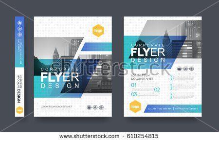 Poster Flyer Pamphlet Brochure Cover Design Stock Vector 558505045 ...