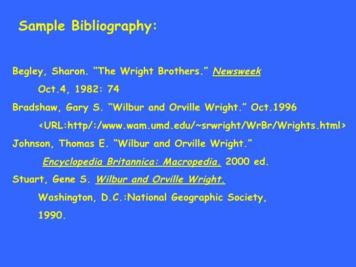 5th Bibliography #3