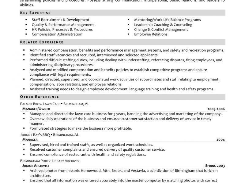 Tremendous Human Resource Manager Resume 12 Hr Resume - Resume Example