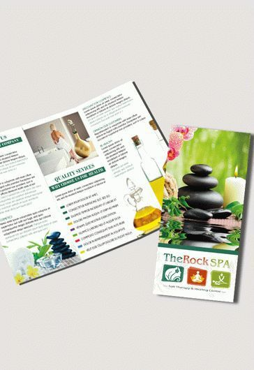 Spa Free PSD Tri-Fold PSD Brochure Template – by ElegantFlyer