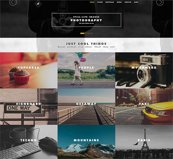 21+ Photography Bootstrap Themes & Templates | Free & Premium ...