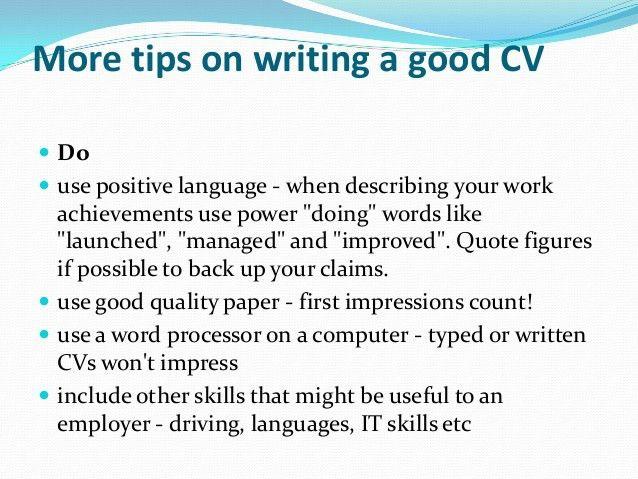 Tips On Writing Resume. 10 resume cover letter writing tips ...