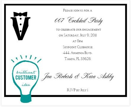 Cocktail Party Invitation Wording | THERUNTIME.COM