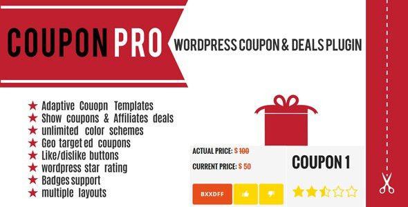 Coupon Pro: WordPress Coupon & Deals Plugin by sourcewp | CodeCanyon