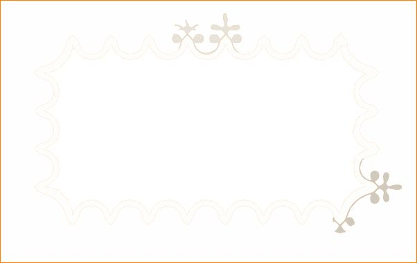 5+ place card template | Outline Templates