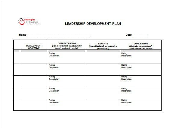 10+ Development Plan Templates – Free Sample, Example, Format ...
