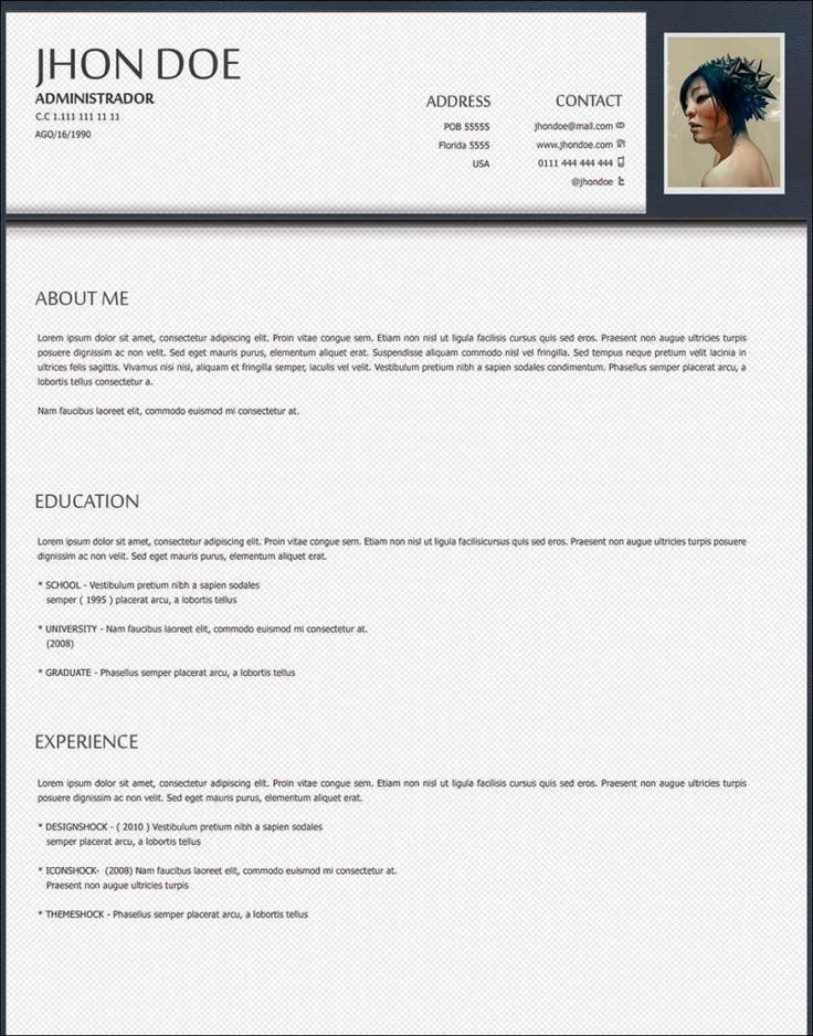 18 best How to write a CV images on Pinterest | Cv template ...