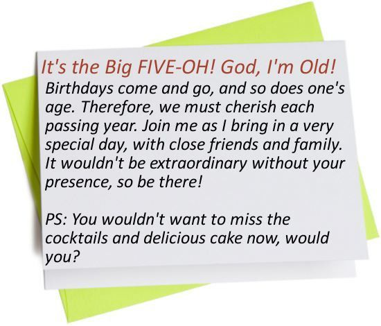 Funny Birthday Invitation Wording - plumegiant.Com