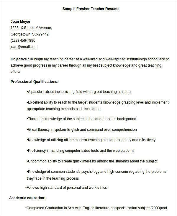 great teacher resume examples the 7981 best images about resume