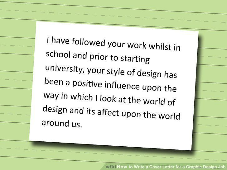 How to Write a Cover Letter for a Graphic Design Job: 5 Steps